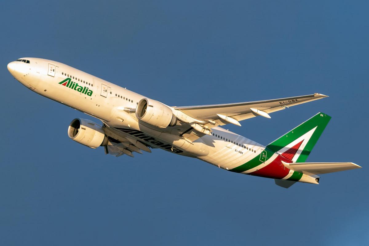 """""""Alitalia"""" bu gün sonuncu aviareysini yerinə yetirəcək"""