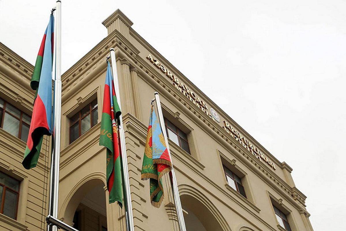 the Azerbaijani Defense Ministry