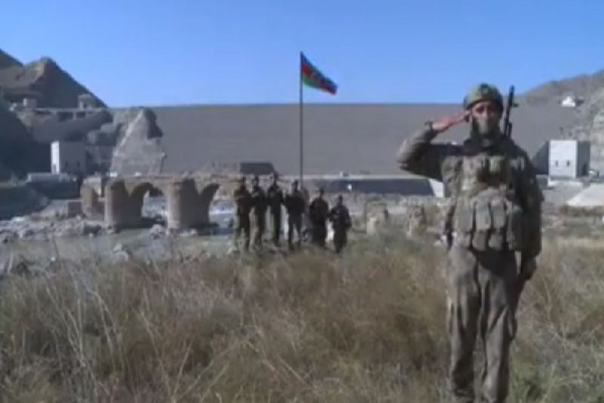 Liberation ofKhudafarin bridges and Khudafarin village from occupation
