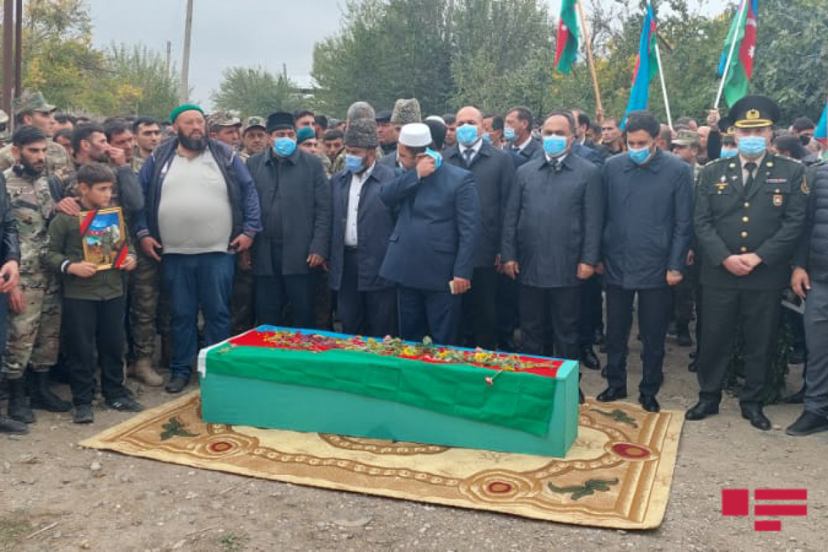 """Martyred military serviceman of Azerbaijani Army laid to rest-<span class=""""red_color"""">UPDATED"""