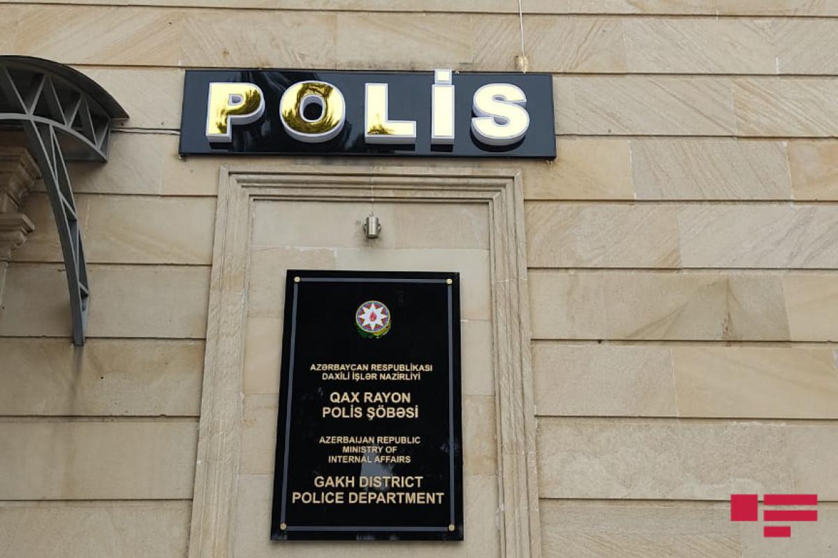 Qax rayon Polis Şöbəsi