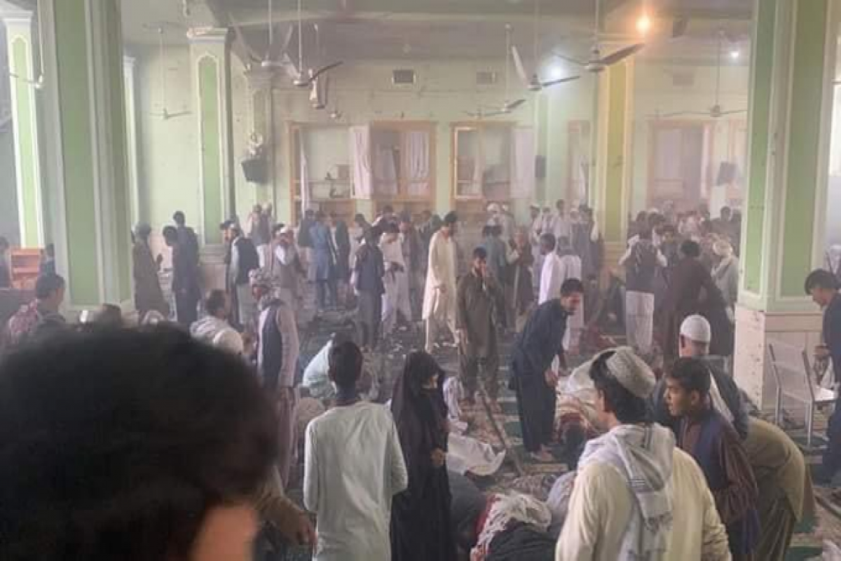 """62 killed, 68 injured as blast hits Afghan mosque in Kandahar-<span class=""""red_color"""">UPDATED-1"""