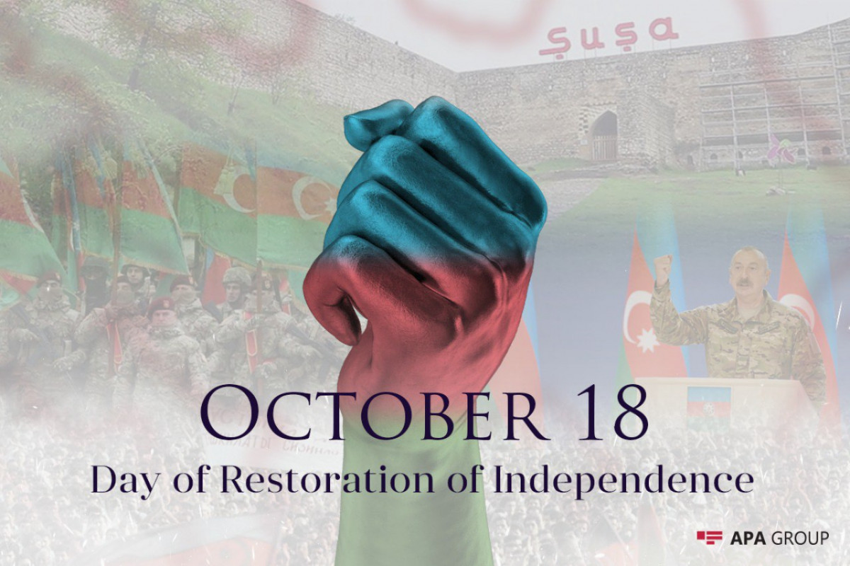 Azerbaijan marks 30th anniversary of restoration of its independence