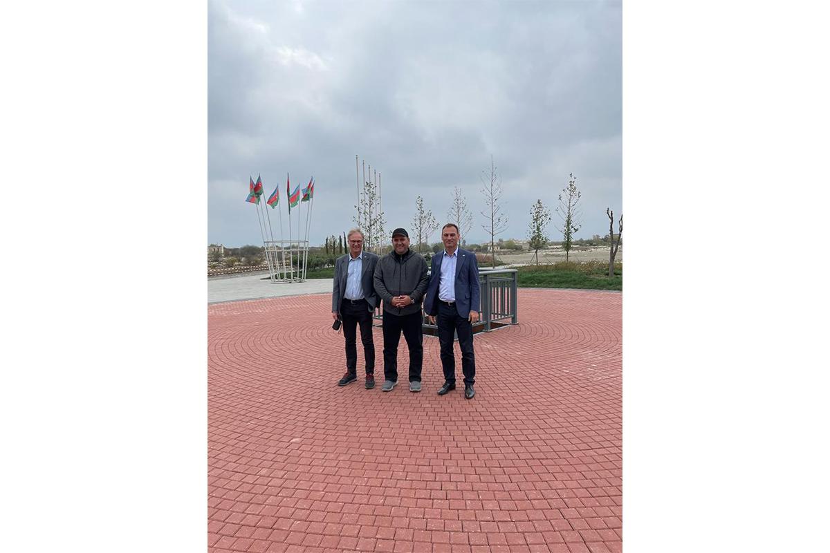 "German ambassador visits Agdam-<span class=""red_color"">PHOTO"