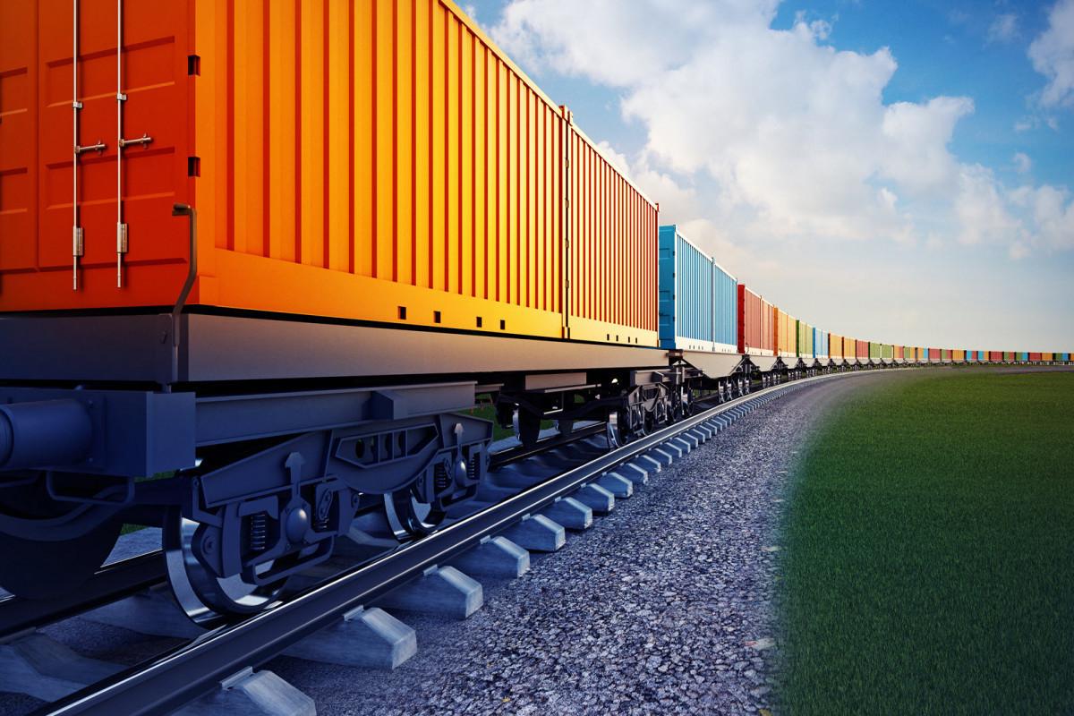 İşğaldan azad olunmuş ərazilərə ilk konteyner qatarı yola salınıb