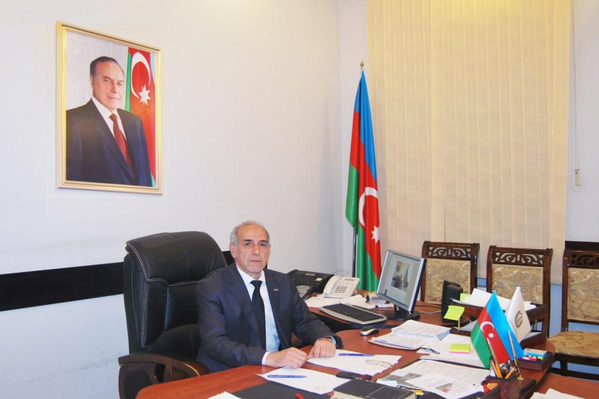 Проректор по организации обучения и технологиям обучения Гянджинского государственного университета Мамедов Фахраддин Гасан оглу
