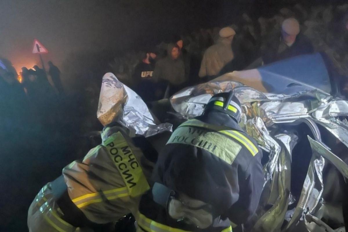 В ДТП с рейсовым автобусом в Дагестане, погибли четыре человека