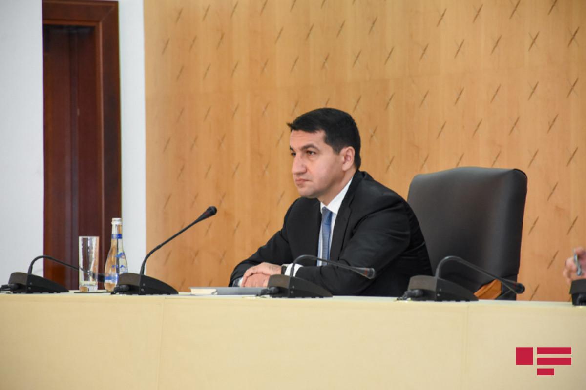 Assistant to Azerbaijani President Hikmat Hajiyev
