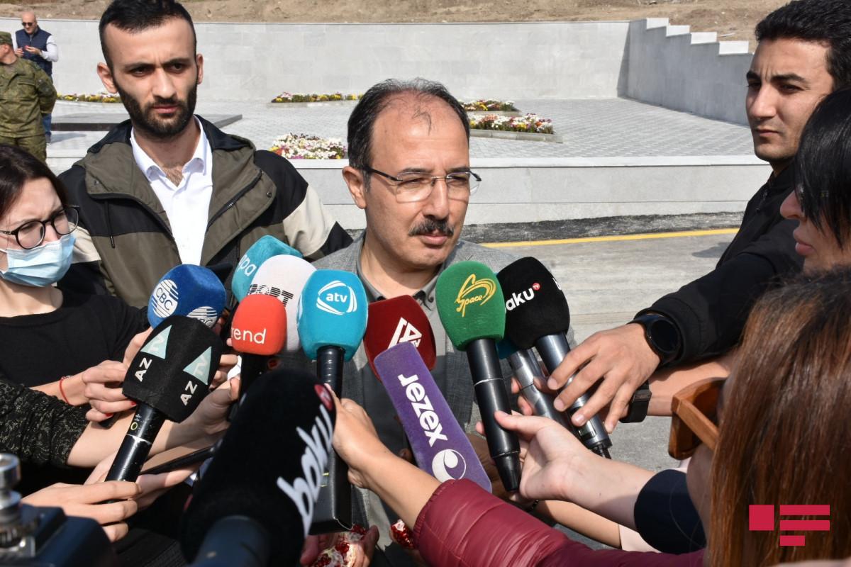 Turkish ambassador to Azerbaijan Jahid Bagci