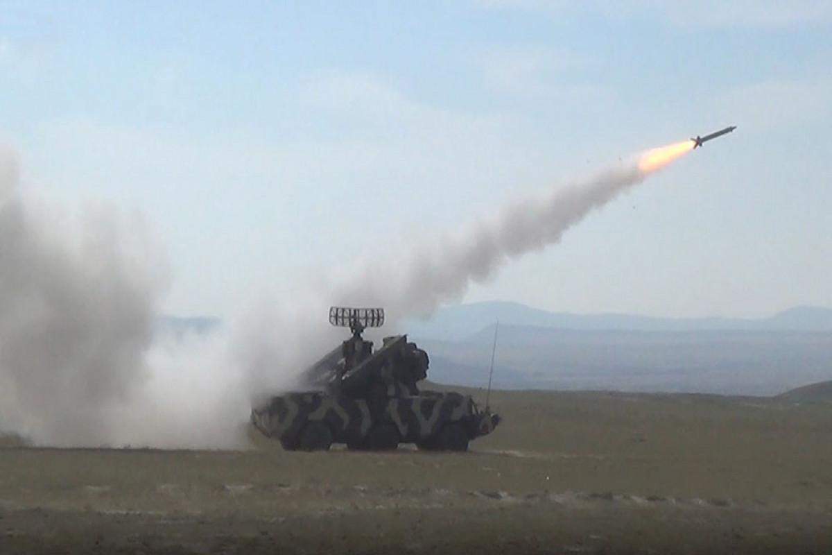 """Azerbaijani MoD: Air Defense Units carry out combat firing -<span class=""""red_color"""">VIDEO"""