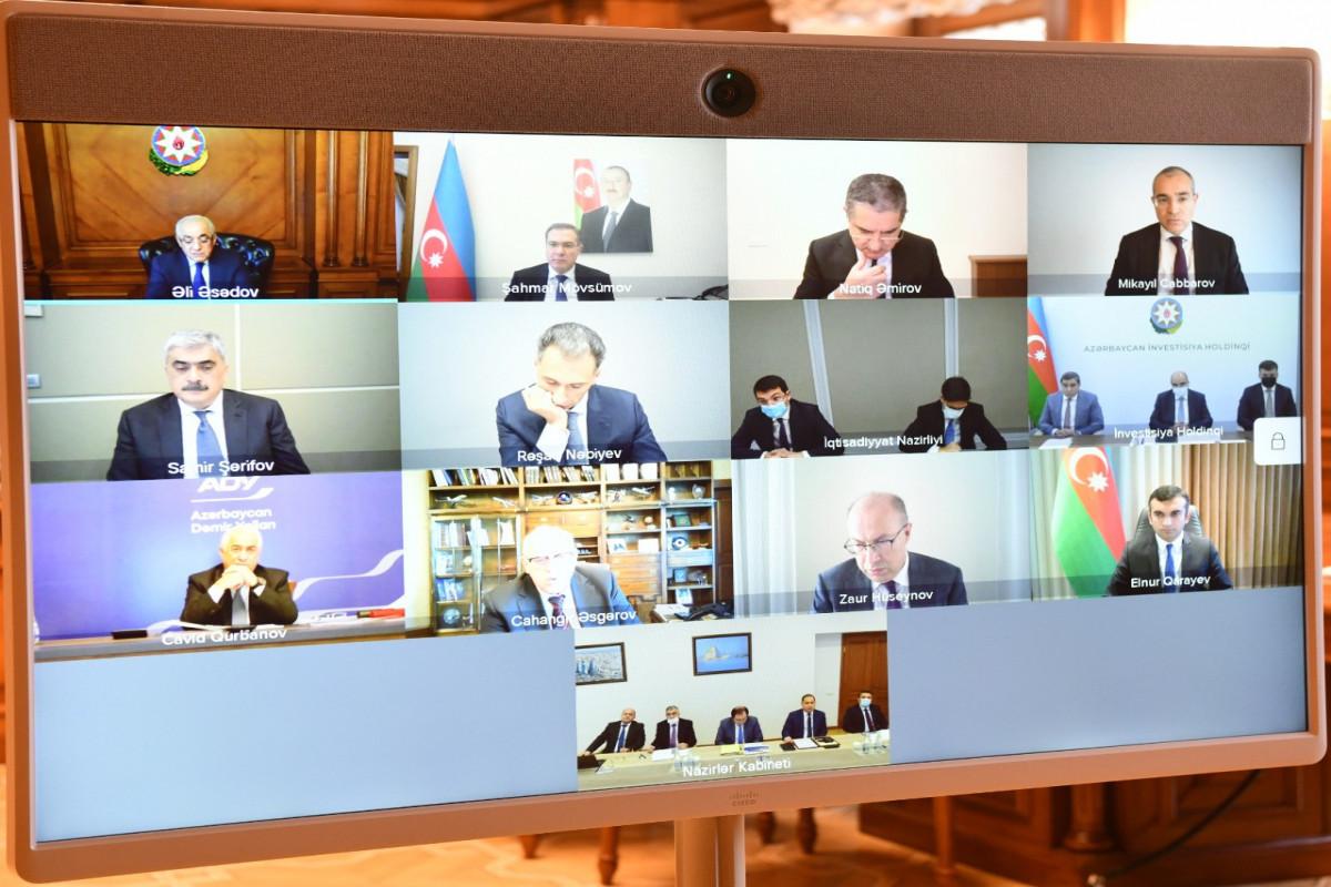 Diagnostics of activity of AZAL, Azerbaijan Railways, Baku Metro and BakuBus was conducted