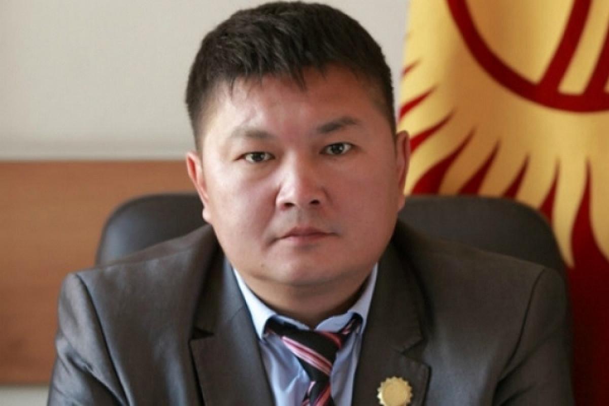 Ambassador of Kyrgyzstan to Azerbaijan Kayrat Osmanaliyev