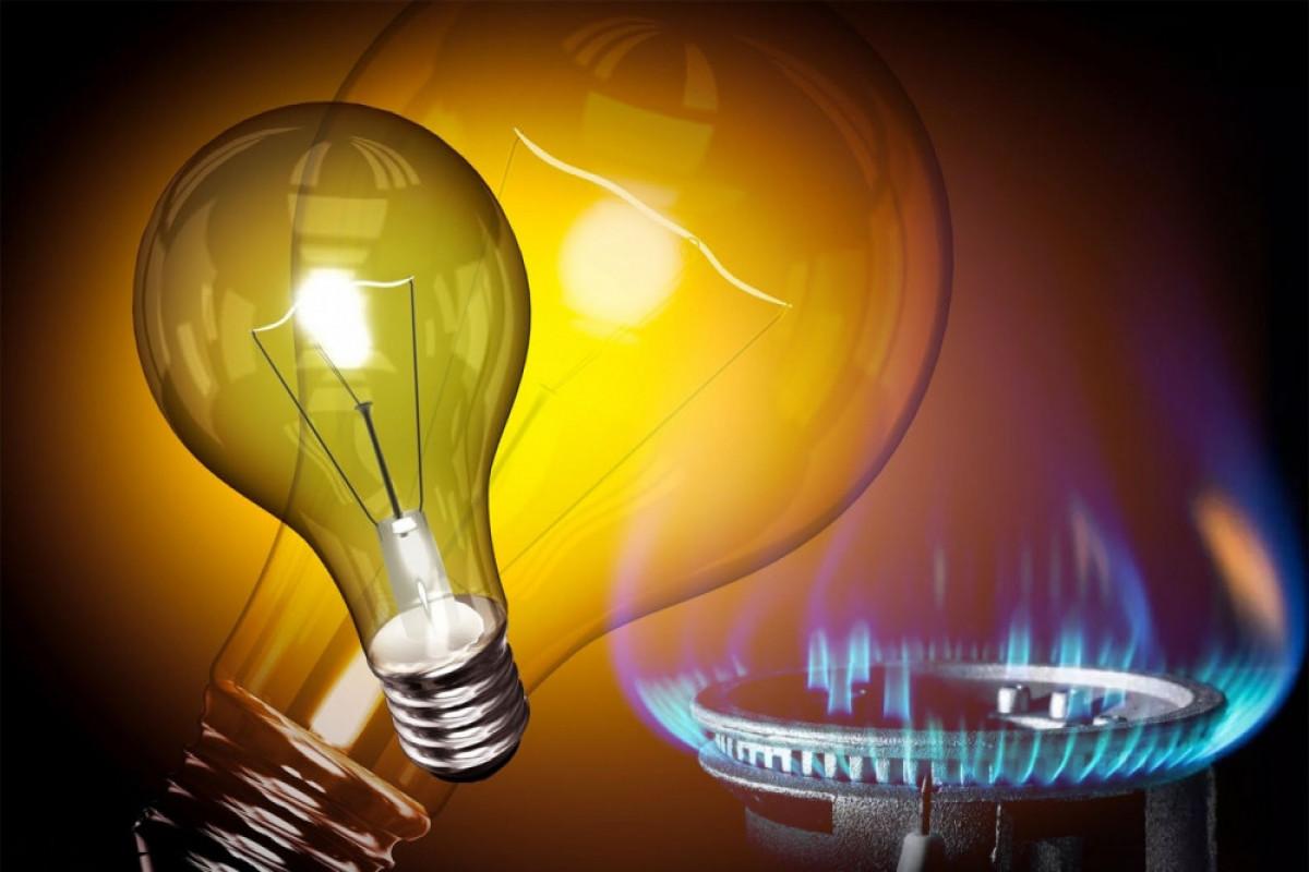 Təbii qazın və elektrik enerjisi tarifləri dəyişib