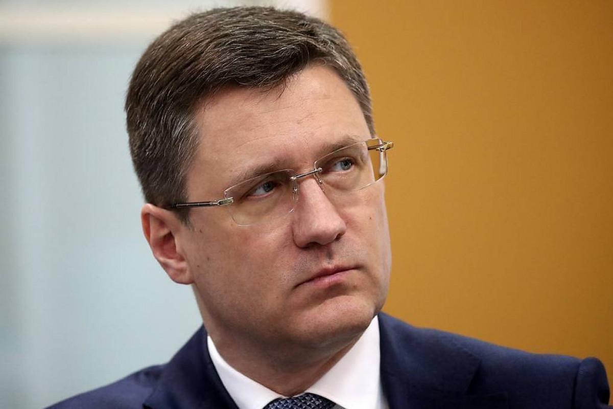 Russia Deputy Prime Minister Alexander Novak