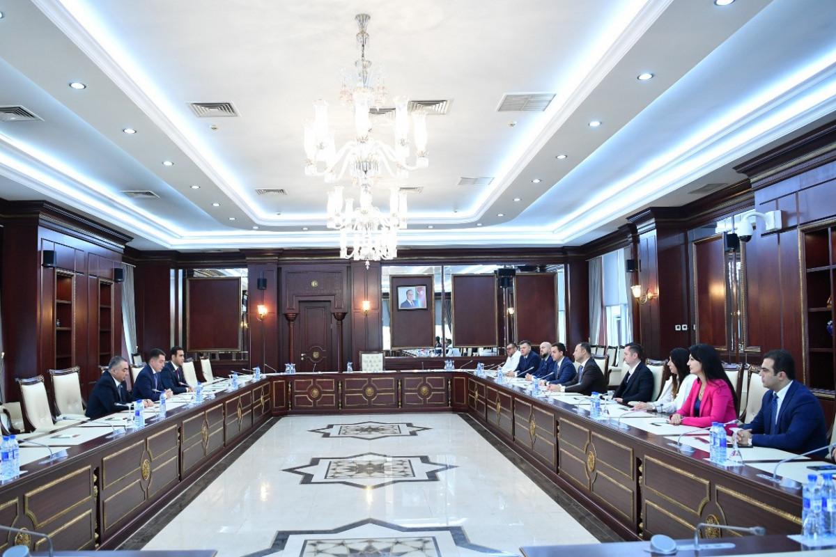 Əli Hüseynli, Ukrayna Ali Radasının Azərbaycanla parlamentlərarası dostluq qrupunun üzvləri ilə görüş
