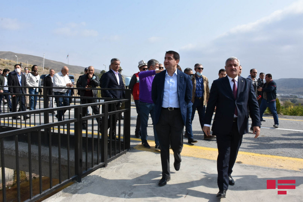Visit of representatives of diplomatic corps to Sugovushan and Talish ends