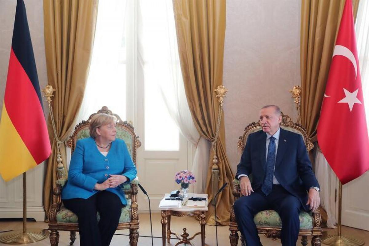 Angela Merkel, Rəcəb Tayyib Ərdoğan