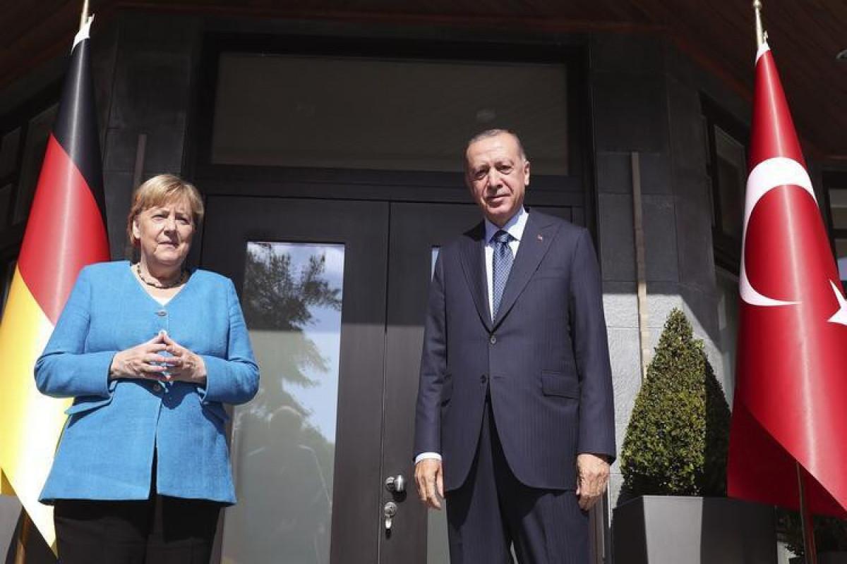 Ангела Меркель, Реджеп Тайип Эрдоган