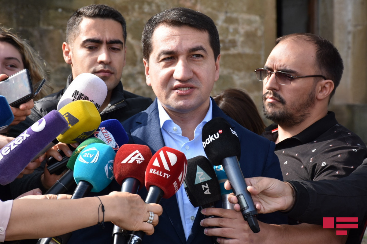 Assistant to Azerbaijani President: Road to Talish village laid down in parallel to mine clearance