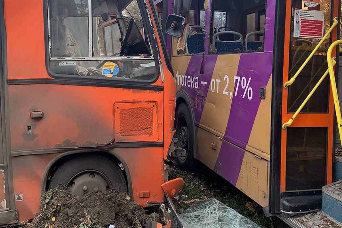 Rusiyada zəncirvari yol qəzasında 24 nəfər yaralanıb