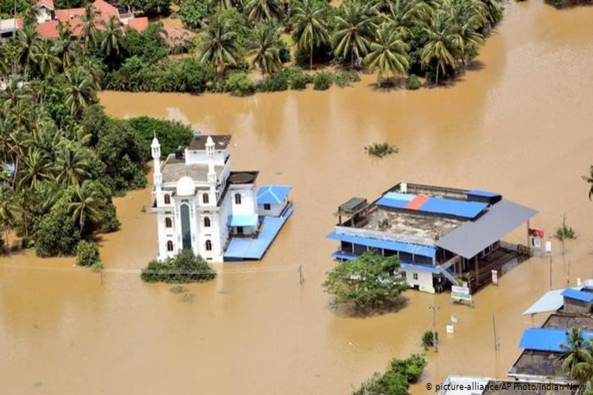 Hindistanda leysan yağışları nəticəsində 10 nəfər ölüb