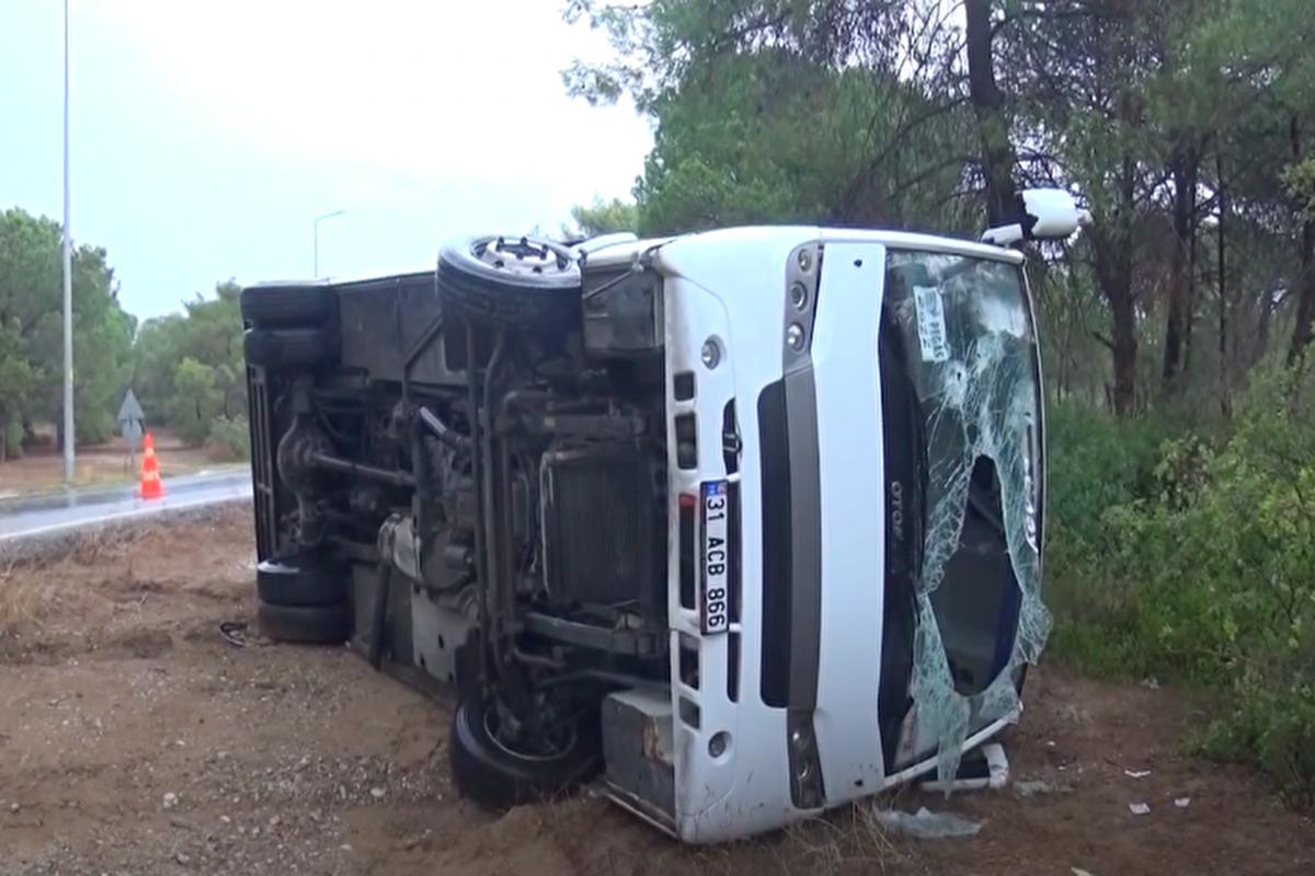 Peruda avtobus qəzası nəticəsində 8 nəfər ölüb