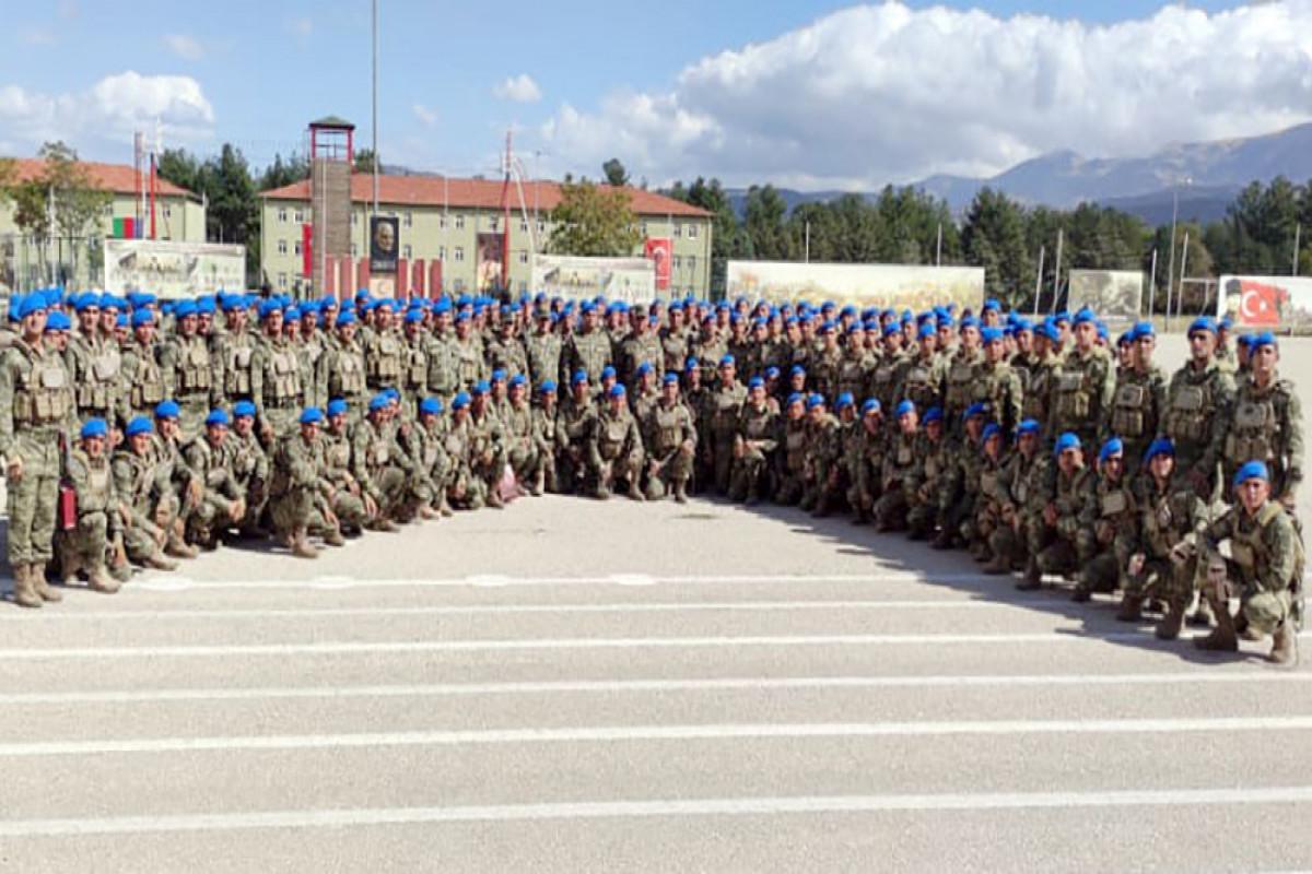 Graduation ceremony of the Azerbaijani servicemen participating in the courses