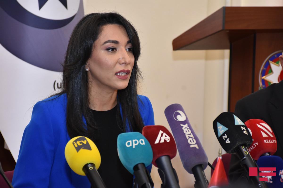 Ombudsperson of Azerbaijan Sabina Aliyeva