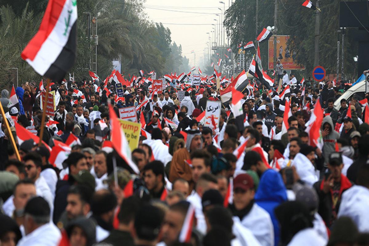 В городах Ирака прошли протесты против фальсификации выборов