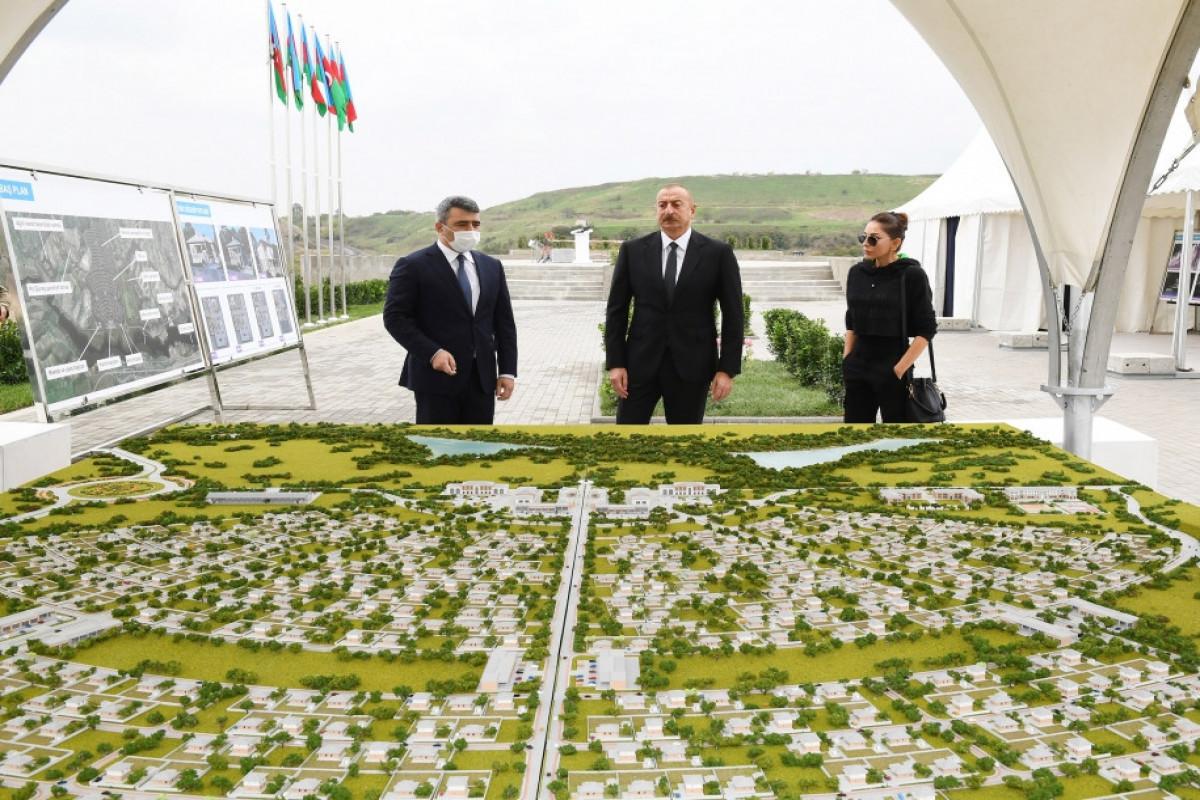 "Azerbaijani President laid the foundation stone for new ""smart village"" in Dovlatyarli village"