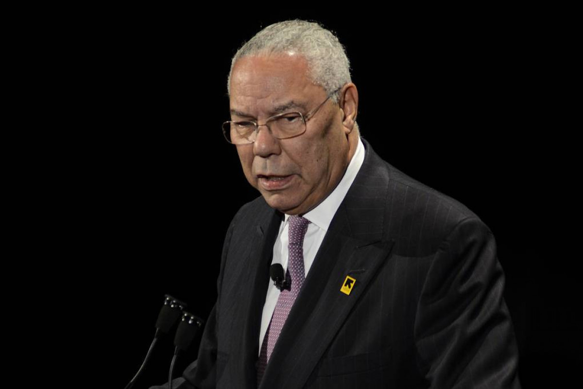 former U.S. Secretary of State Colin L. Powell