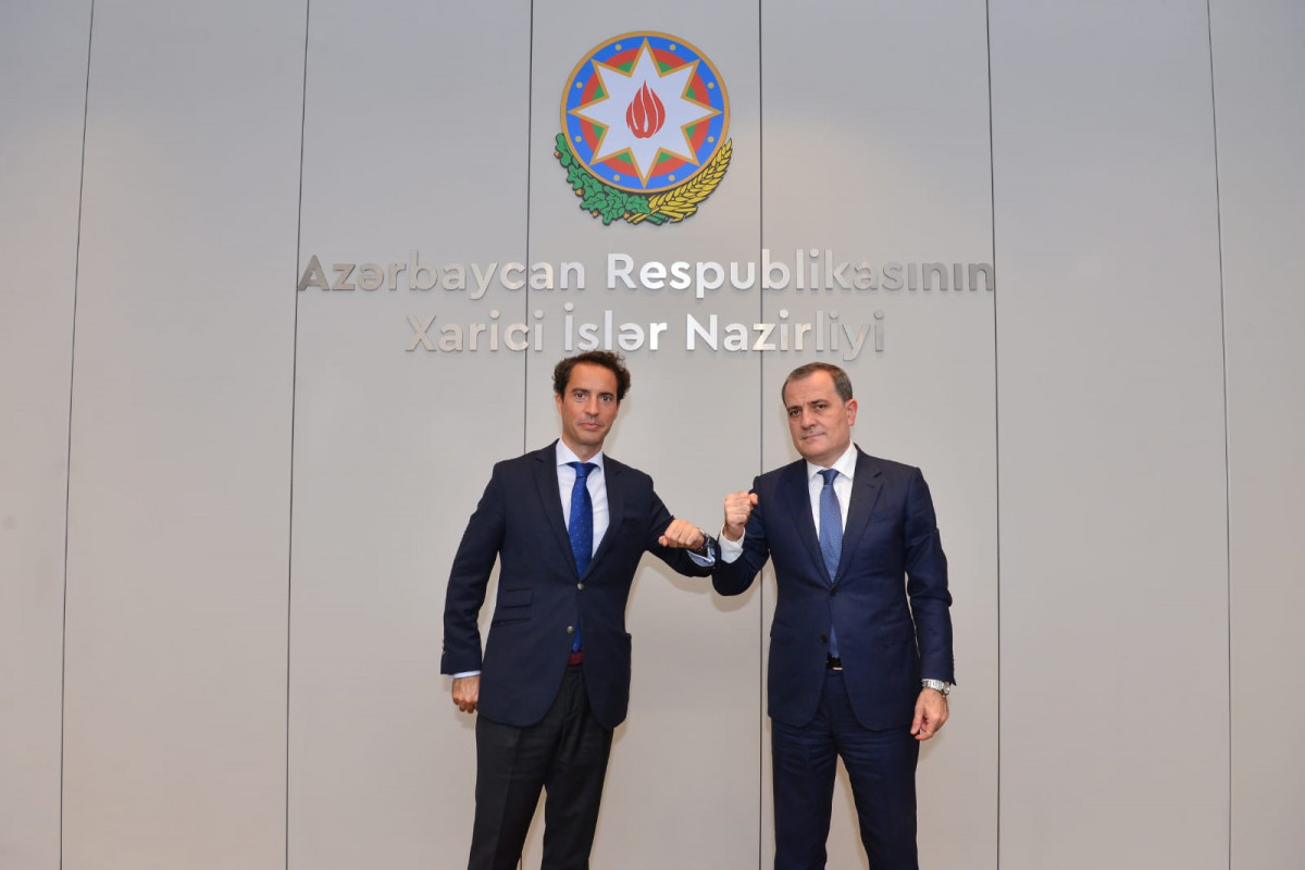 Foreign Minister Jeyhun Bayramov received a delegation led by NATO Special Representative for the South Caucasus and Central Asia Javier Kolomina Piriz