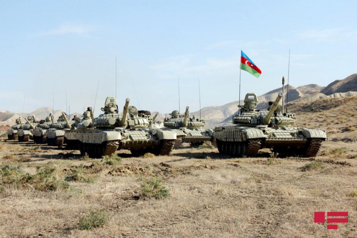 Azerbaijani MoD: Command-Staff Exercises started in the Lachin region