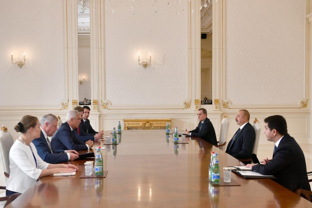 Azərbaycan Prezidenti Slovakiyanın xarici işlər və Avropa nazirini qəbul edib