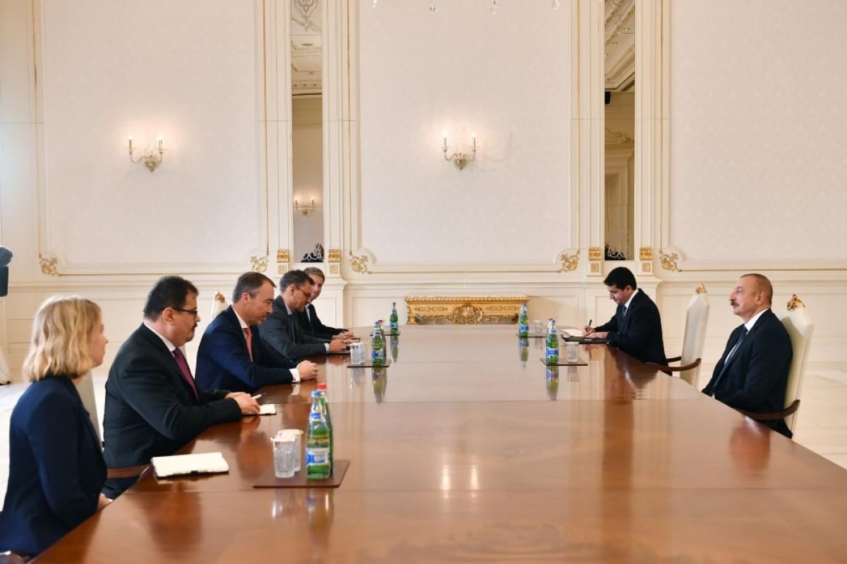 Президент Ильхам Алиев принял специального представителя Евросоюза