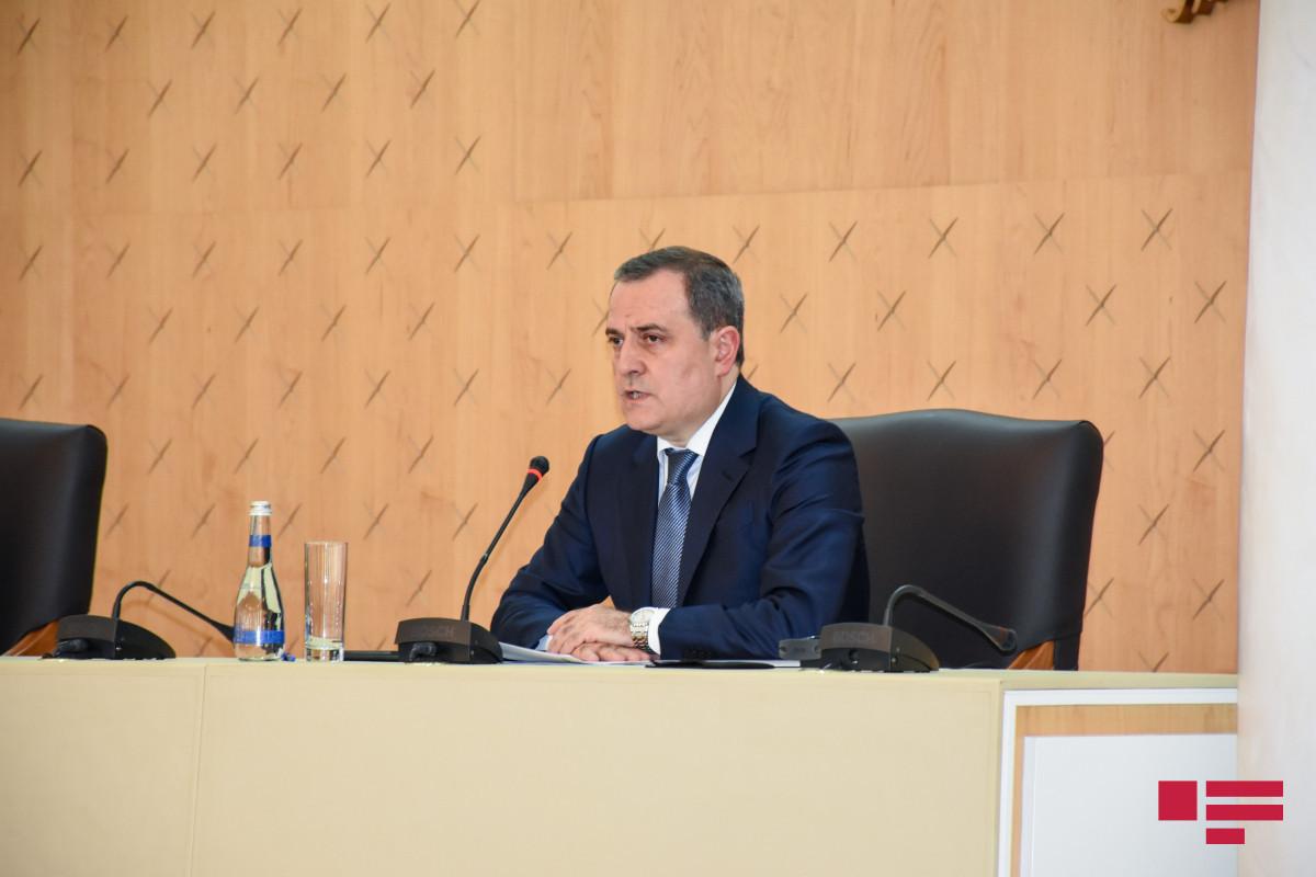 Minister of Foreign Affairs of Azerbaijan Jeyhun Bayramov