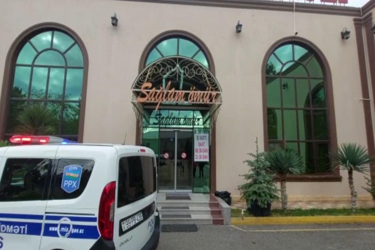 Gəncədə karantin rejimini pozan SPA mərkəzi aşkarlanıb