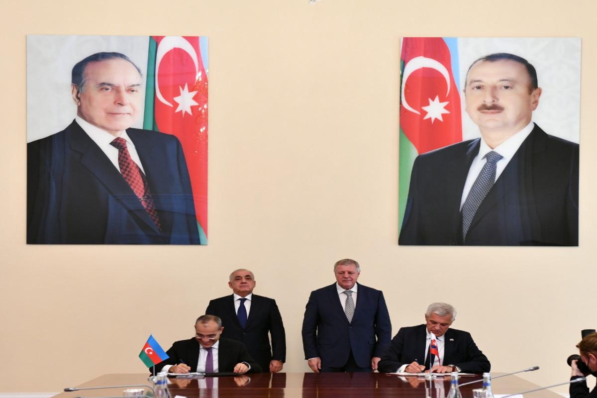 Azerbaijan and Slovakia sign treaty