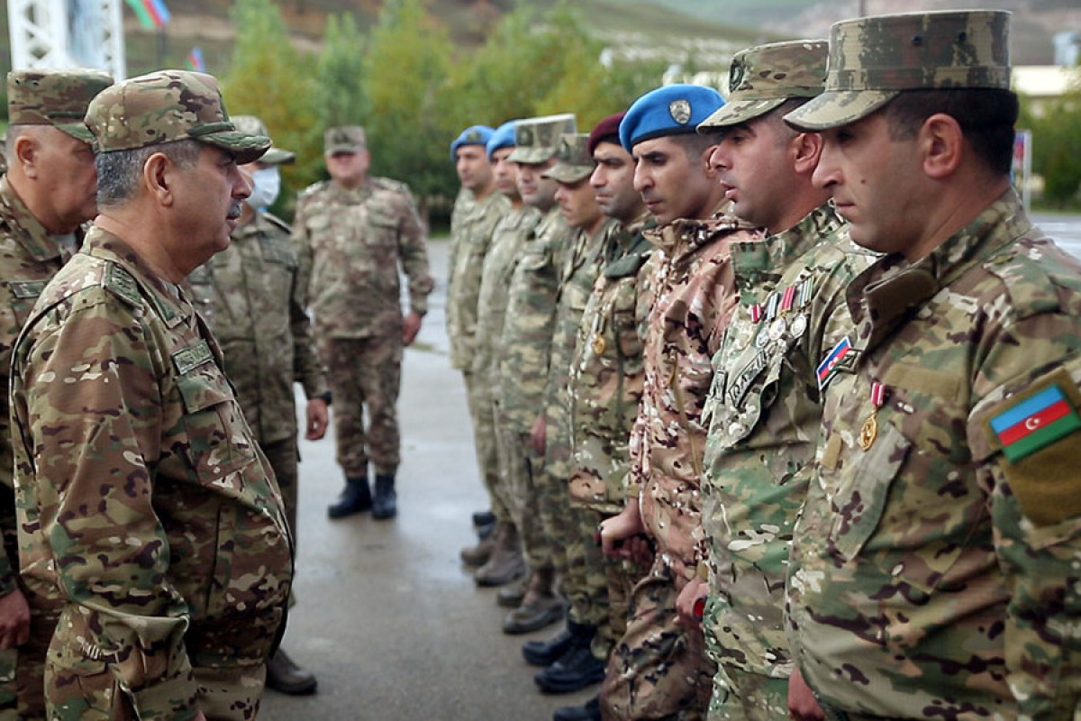 """Azerbaijani Defense minister visited the recently established commando military unit -<span class=""""red_color"""">VIDEO"""