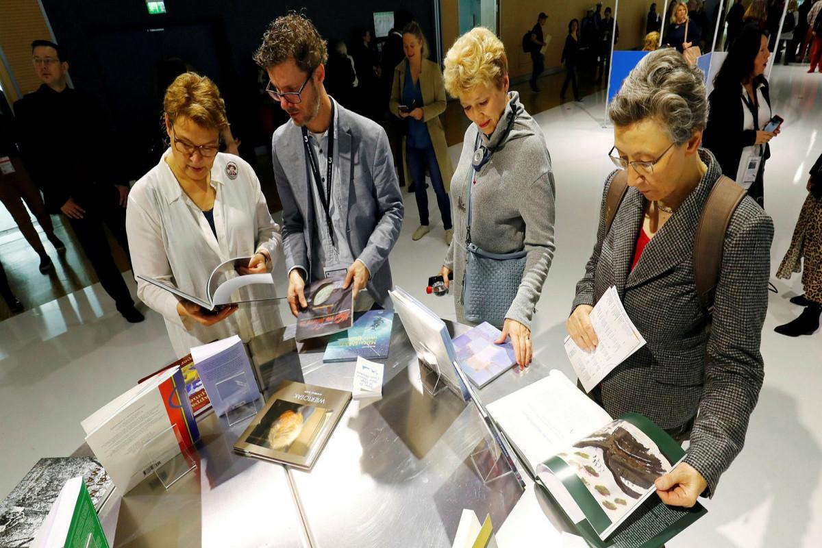 Frankfurt Book Fair opens its doors to public again