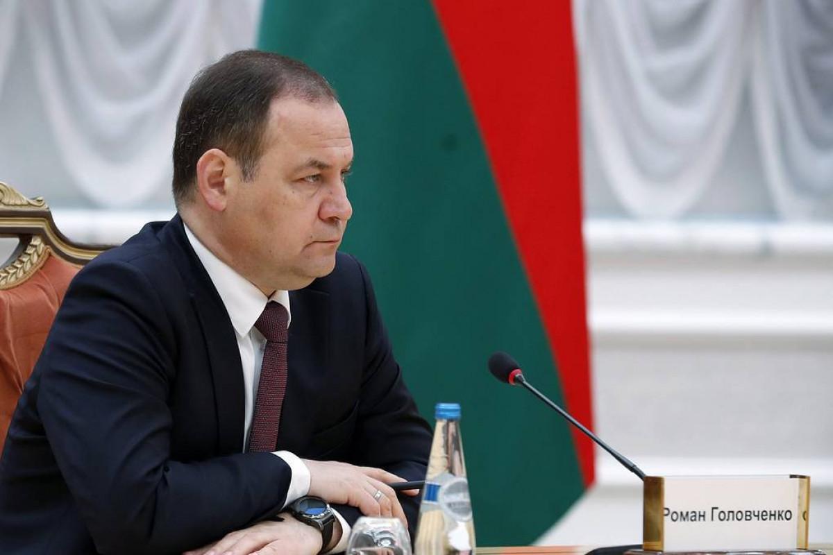 Премьер-министр Беларуси Роман Головченко