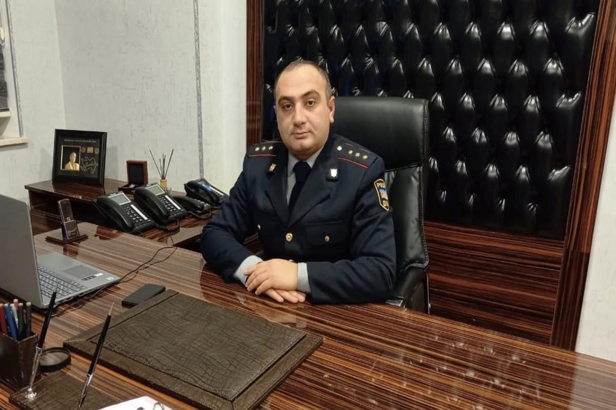 Eşqin Qasımov, DİN-in Mətbuat Xidmətinin Gəncə regional qrupunun baş inspektoru