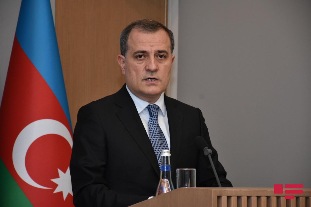 Azerbaijani Foreign Minister Jeyhun Bayramov