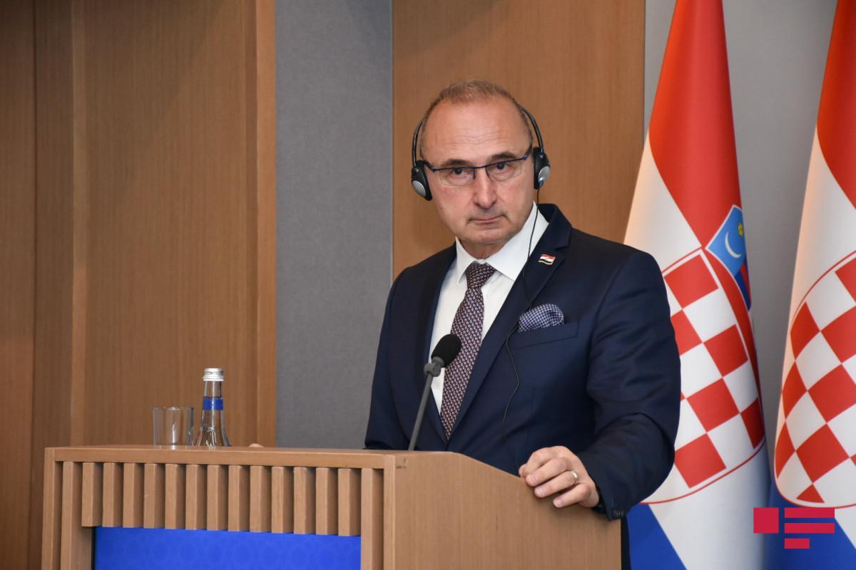 Croatian Minister of Foreign and European Affairs Gordan Grlić-Radman