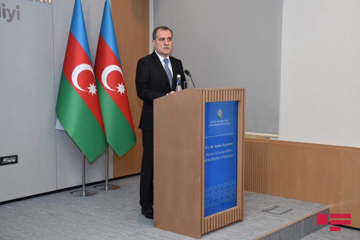 Azerbaijani FM Jeyhun Bayramov