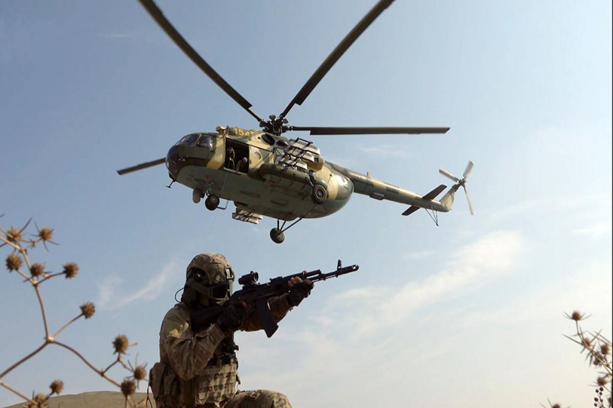 В Силах специального назначения продолжаются тактико-специальные учения