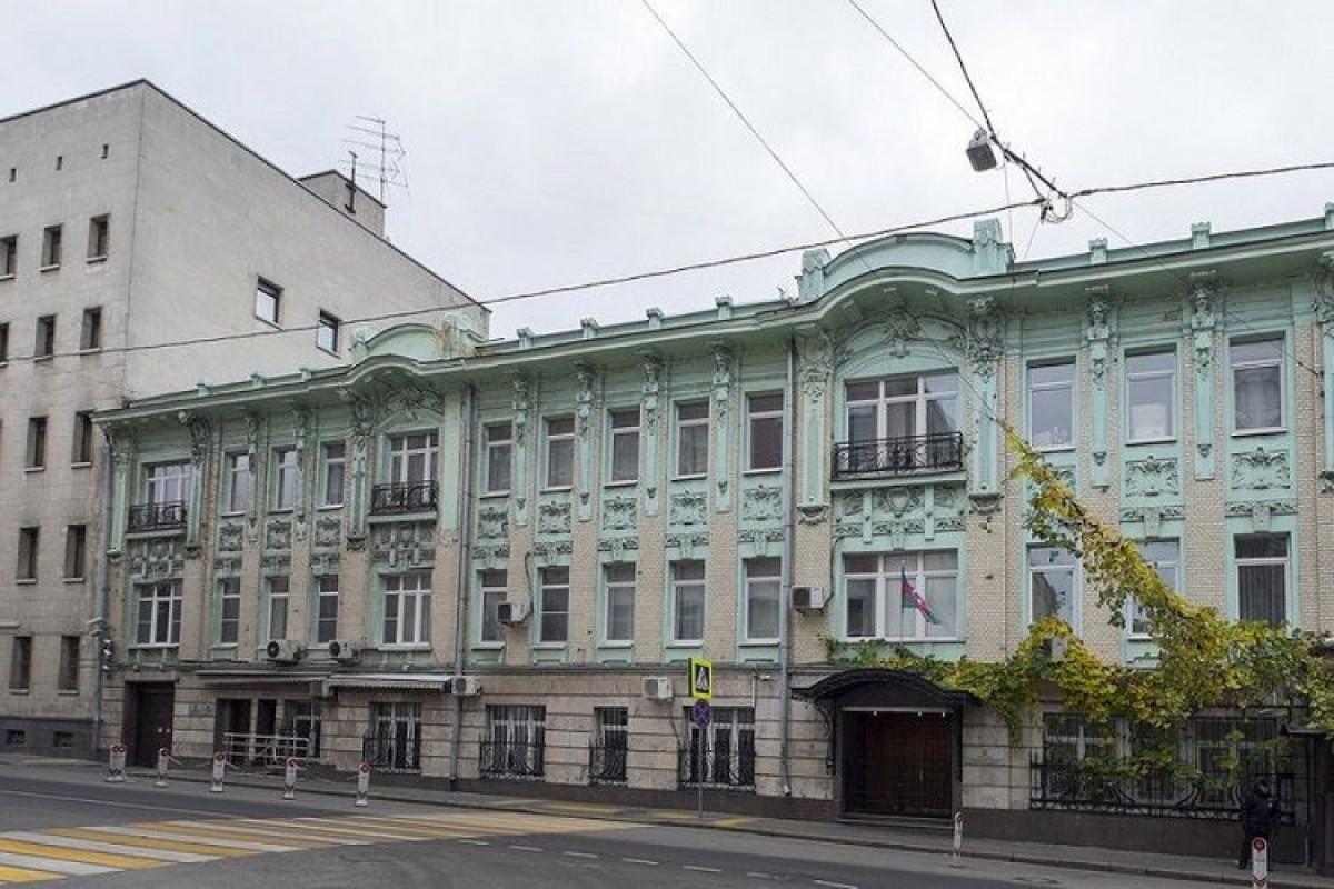 Azərbaycanın Rusiyadakı səfirliyinin binası