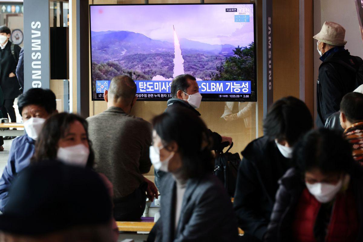 N.Korea says U.S. overreacting to missile test
