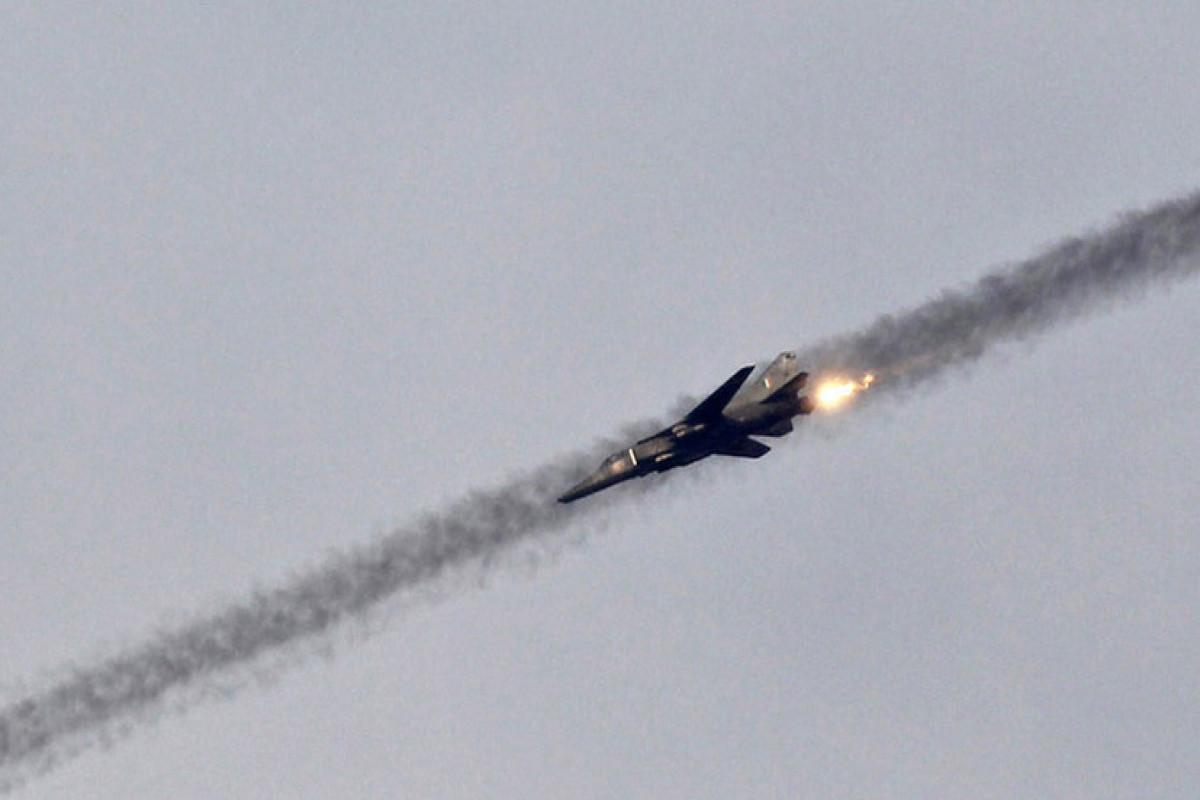 Самолет ВВС Индии потерпел катастрофу в штате Мадхья-Прадеш