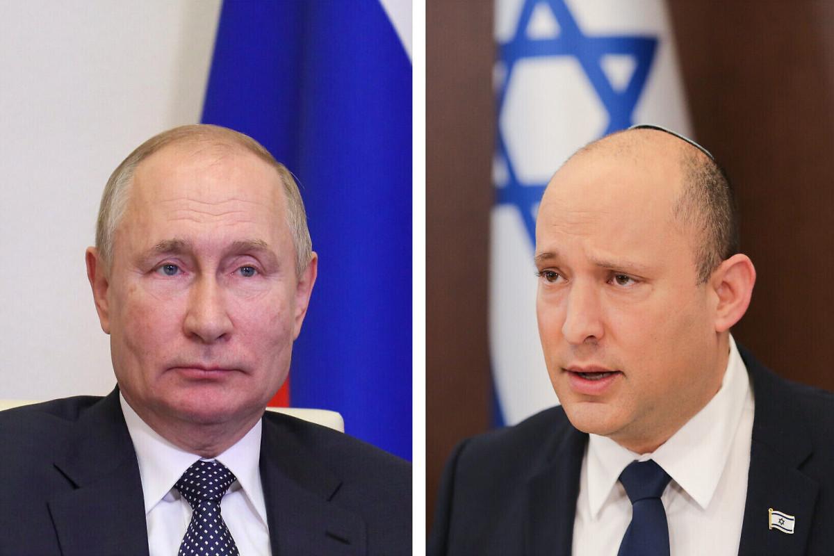 Vladimir Putin, Naftali Bennett